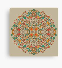 - Oriental flower pattern - Canvas Print