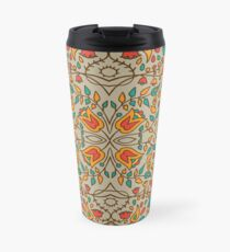 - Oriental flower pattern - Travel Mug