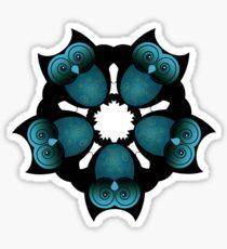 A PARLIMENT OF OWLS Sticker