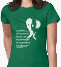 jane goodall Women's Fitted T-Shirt