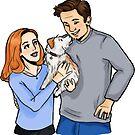 Puppy Love by noamchimpsky