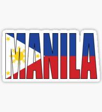 Manila. Sticker