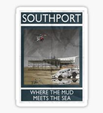 Southport - Where The Mud Meets The Sea Sticker