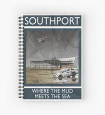 Southport - Where The Mud Meets The Sea Spiral Notebook