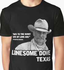 The Sunny Slopes of Long Ago - Lonesome Dove Graphic T-Shirt