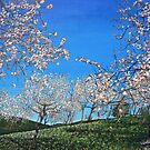 Almond trees by Valentina Abadia Henao