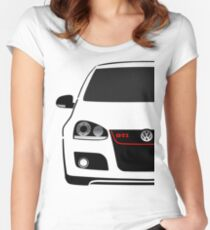 MK5 GTI Half Cut Women's Fitted Scoop T-Shirt