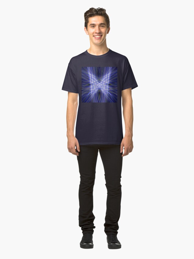 Alternate view of Laser Butterfly Classic T-Shirt