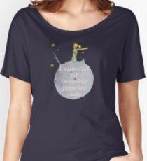 L'essentiel est invisible pour les yeux Women's Relaxed Fit T-Shirt