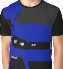 VW MK6 R Half Cut Graphic T-Shirt