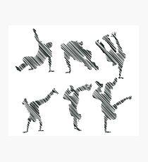 Breakdance-Draw Photographic Print