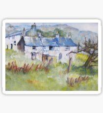Cottages Sticker