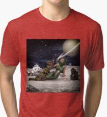 Vintage Sci-Fi 2 Tri-blend T-Shirt