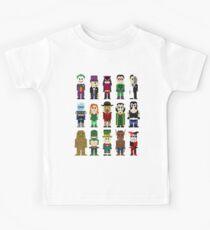 8-Bit Super Heroes: ROGUES! Kids Clothes