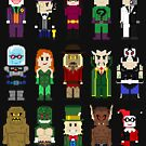 8-Bit Super Heroes: ROGUES! by AlCreed