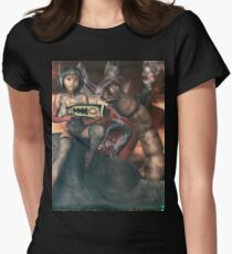 Vintage Sci-Fi 3 Women's Fitted T-Shirt