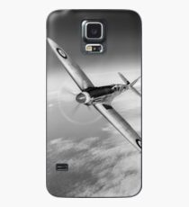 Silver Spitfire PRMk XIX PS852 black and white version Case/Skin for Samsung Galaxy