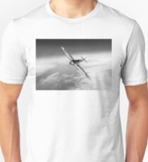 Silver Spitfire PRMk XIX PS852 black and white version Unisex T-Shirt