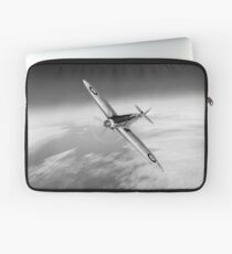 Silver Spitfire PRMk XIX PS852 black and white version Laptop Sleeve