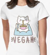 Vegan Ramen Women's Fitted T-Shirt