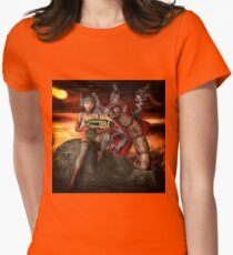 Vintage Sci-Fi 4 Womens Fitted T-Shirt