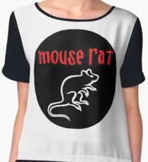 Mouse Rat Circle Chiffon Top
