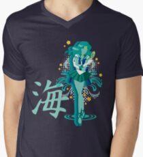 Soldier of the Sea & Embrace Men's V-Neck T-Shirt