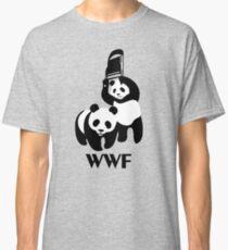 WWF Parody Panda Classic T-Shirt