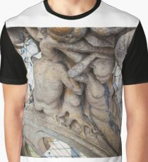 sculptures looking to the plaza. Graphic T-Shirt