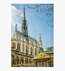 Sainte Chapelle Paris Photographic Print