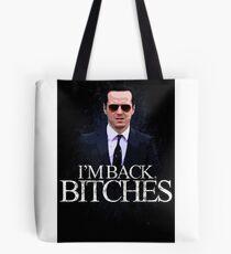 Jim Moriarty - I'm Back (BBC SHERLOCK) Tote Bag