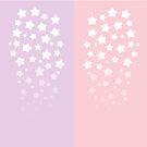 Cascading Stars - Gradient by starlightslk