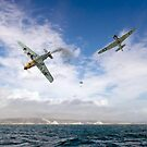 Bf109 down in the Channel  by Gary Eason