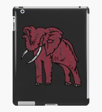Crimson Elephant Vintage iPad Case/Skin