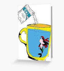 Marmaid and Oki Greeting Card
