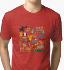 Animals Tri-blend T-Shirt