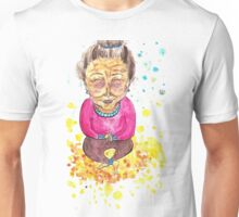 Old Lady Contentment Unisex T-Shirt