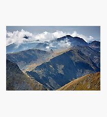 High mountains Photographic Print