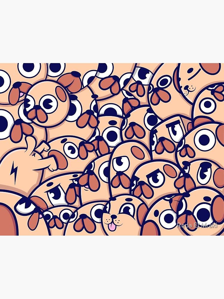 Pug Heads de RedArtwork