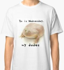 it' is wednesday my dudes Classic T-Shirt