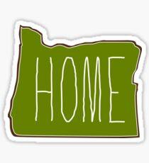Oregon my home Sticker