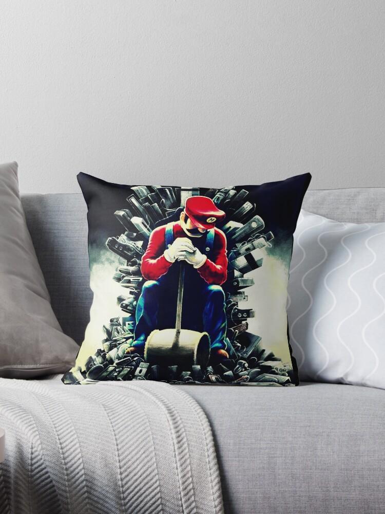 Super Mario's game of thrones by nikolech
