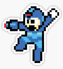 Mega-Man Sticker