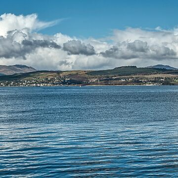Scottish Panorama over the River Clyde by 242Digital