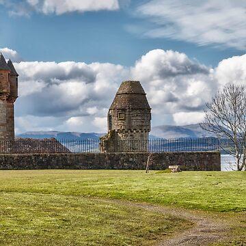 Newark Castle At Port Glasgow, Scotland by 242Digital