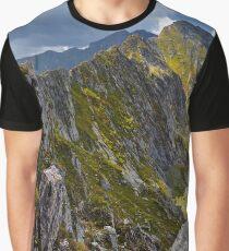 Mountain landscape Graphic T-Shirt