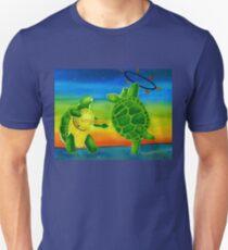 Fire Play Terrapin Turtles Unisex T-Shirt