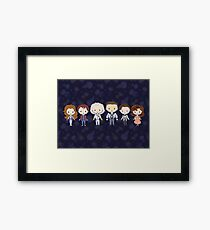 BTTF CutiEs Framed Print