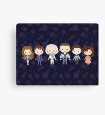 BTTF CutiEs Canvas Print