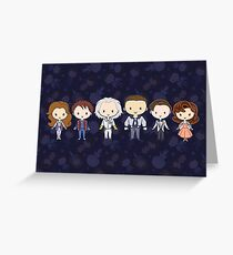BTTF CutiEs Greeting Card
